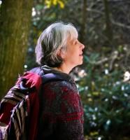Asheville Insight Meditation hiker at Montreat