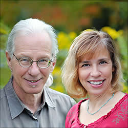 Eddie LeShure and Margaret Kirschner, founders of A Mindful Emergence