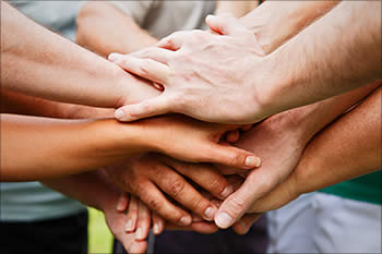 A community of hands