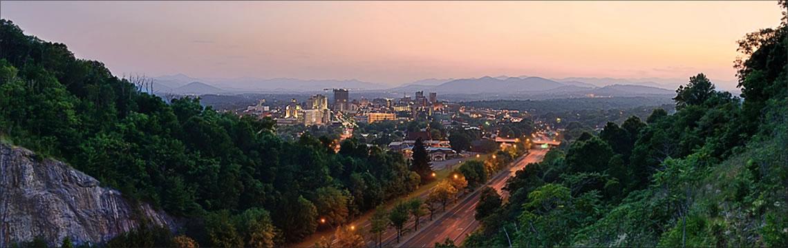 Asheville Scenery